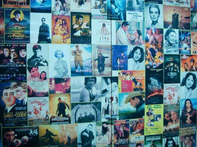如此电影墙,你认识多少?