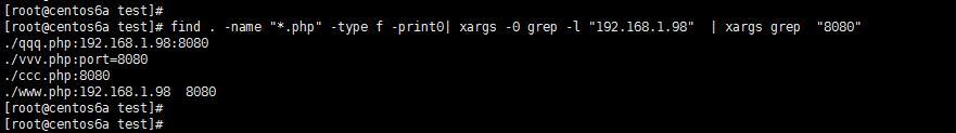 快速定位存在某IP和端口的代码文件